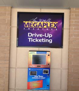 Custom Movie Theatre Sign